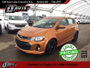 2018 Chevrolet Sonic LT Auto SUNROOF, USB PORTS, HEATED FRONT...