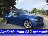 BMW 320D M-Sport (330d 520d 530d A3 A4 Golf Passat A6) £62 per week