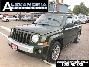 2007 Jeep Patriot Limited 4x4 leather roof safety & e test