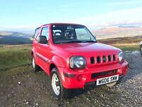 2001 Suzuki Jimny JLX 4x4 1.3 64k FSH