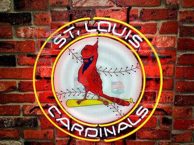 St Louis Cardinals Lamp Logo Neon Light Sign 24
