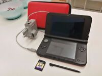 Nintendo 3DS XL Red and Black