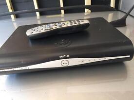 Sky plus HD box and remote