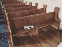 CHURCH PEWS WANTED