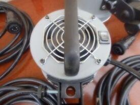 professional lighting equipment X3 heads X6 leads