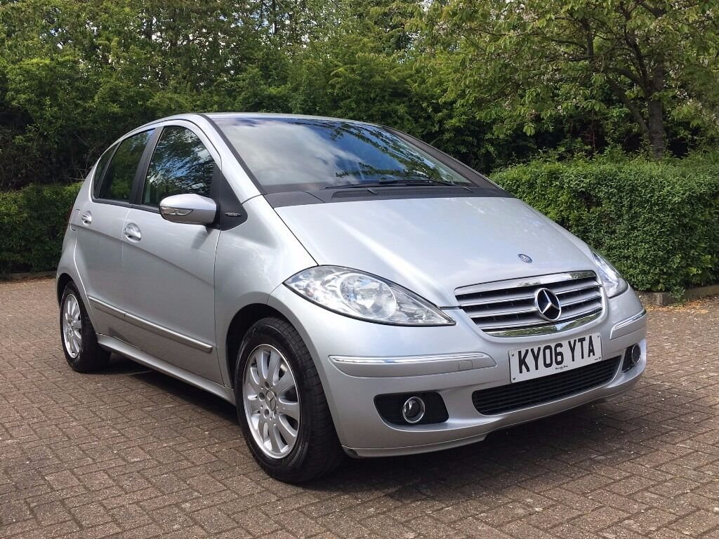 2006 mercedes benz a150 a class silver petrol auto in excellent condition in uxbridge. Black Bedroom Furniture Sets. Home Design Ideas
