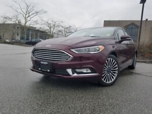 2017 Ford Fusion SE All-wheel Drive