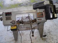 bandsaw perfect working order can be seen working pickup only kept in garage