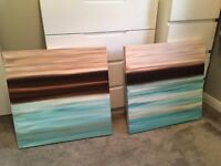 Set of 5 x Canvasses