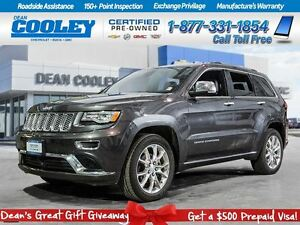 2015 Jeep Grand Cherokee SUMMIT/CLAIMS FREE/NAVIGATION/SUNROOF