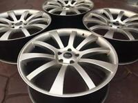 """22"""" Riva Land Rover Range Rover Discovery Alloy wheel - Damaged - BMW X5"""