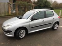 PEUGEOT 206 1.4 GLX 2 Owners / 2 KEYS..52 000. FULL SERVICE HISTORY ..2 OWNERS