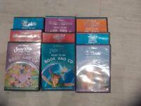 Disney Read Along CD Books