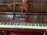 Dagmar upright piano