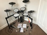 Roland TD-4KX V-Drums Full Mesh Electric Drum kit – plus additional cymbal and stand