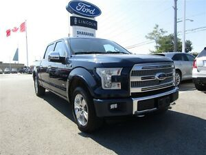 2015 Ford F-150 Platinum | LEATHER | SUN ROOF | LINE-X BED LINER