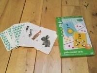 ELC snap cards and jumbo number cards - bargain