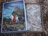 Brand new in box, never opened. Time of the Unicorn. 1000 puzzle. £4. Torquay.
