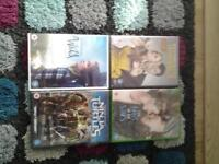 4x new and sealed dvds £5