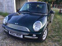 Mini Cooper 2002 - British Racing Green