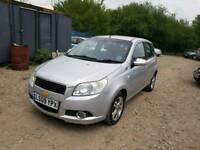 09 PLATE CHEVROLET AVEO. 1.4 PETROL. PX WELCOME