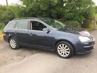 VOLKSWAGEN GOLF ESTATE 1.9 TDI 2008 ***12 MONTHS MOT***