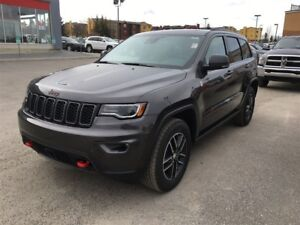 2017 Jeep Grand Cherokee Trailhawk-4WD, LEATHER HEATED SEATS, SU