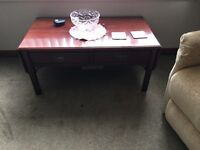 DARK WOOD coffee /sofa table