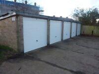 Lockup and leave garage off Church Lane, Chessington