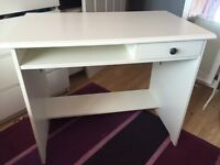 White IKEA computer desk! Need gone *Reduced*