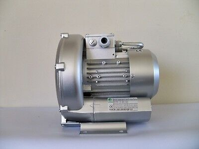 Regenerative Blower 0.37hp 50cfm 48h2o Press 220v1phase Side Channel Blower