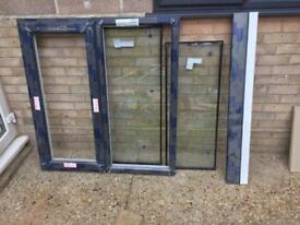 Anthercite UPVC frame with glass