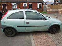 Vauxhall Corsa 1.2 Comfort Dec mot needs TLC Runs superb