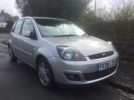 2008 FORD FIESTA 1.6 TDCI 70000 MILES FULL LEATHER INTERIOR!!