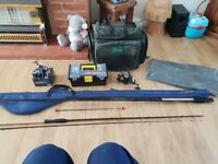 Fishing tackle, excellent as new condition