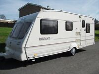 *5 BERTH,BAILEY AUVERGNE CARAVAN ,WITH FULL AWNING AND BEDROOM ANNEXE,GOOD OUTFIT**