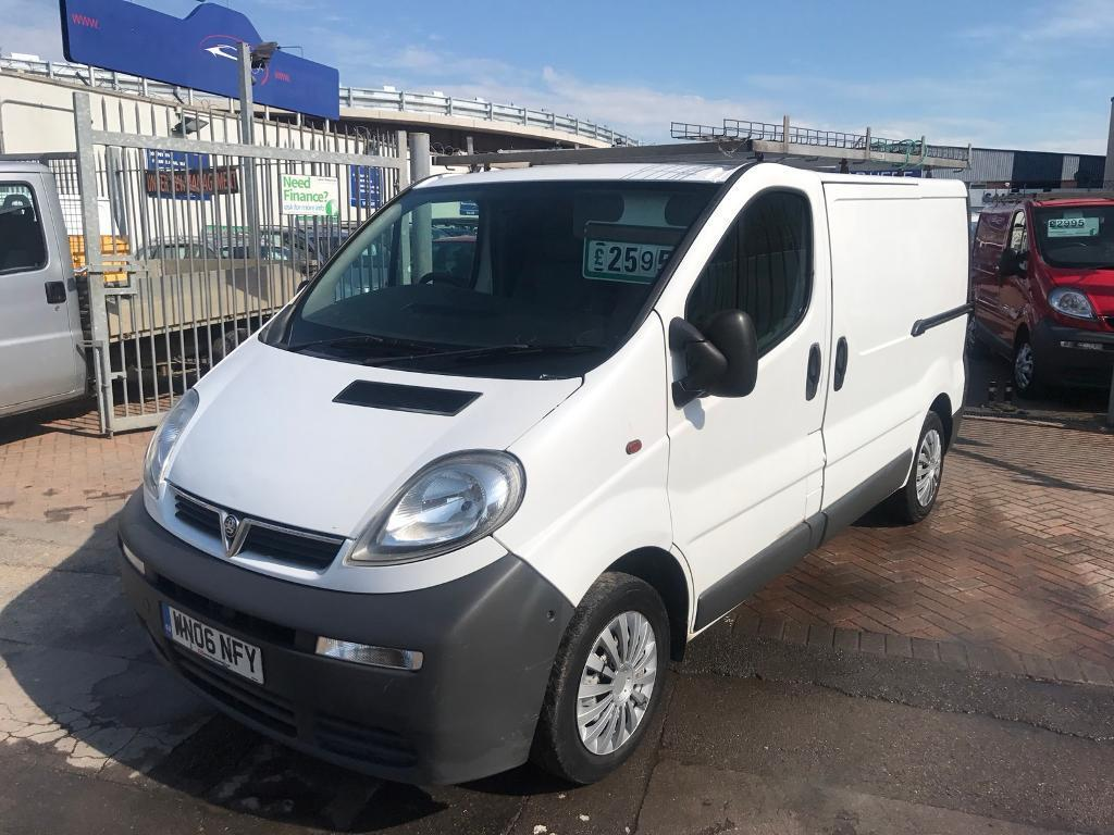 2006 06 VAUXHALL VIVARO VAN 1.9 CDTI SUPERB VAN ALL ROUND IMMACULATE INSIDE OUT READY TO GO NO VAT !