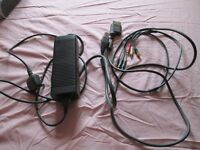 xbox 360 power supply 203 w model dpsn-186eb-1a +av lead