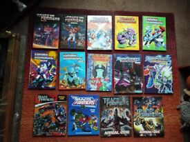 Transformers Annuals Complete Collection