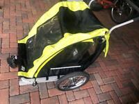 Bike trailer/double stroller