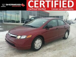 2008 Honda Civic DX-G| REMOTE START| AUX| CRUISE| LOW KMS