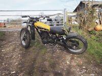 Street Scrambler Brat Custom Bike Flat Tracker HL TT XT 500