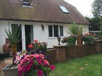 Beautiful spacious one bedroom semi-detached cottage in convienient rural location.