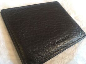 Genuine Mulberry brown leather card holder, wallet, new