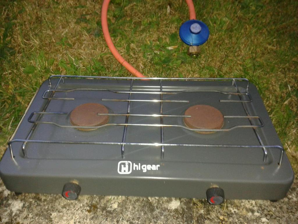 Two ring gas camping stove with regulator | in Plymouth, Devon ...