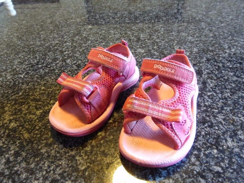 Child's Clarks shoes in good used condition