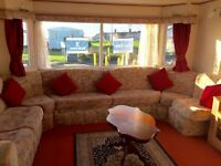 CHEAP STATIC CARAVAN FOR SALE. 3 BEDROOMS. PERFECT FAMILY STARTER HOME. NORTHUMBERLAND COASTLINE.