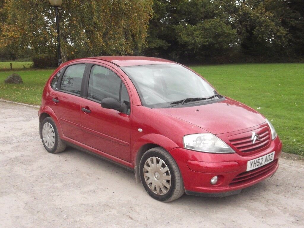 2002 CITROEN C3 1.4 HDI, MOT OCTOBER 2018, TIMING BELT DONE, £20 FOR YEARS TAX, ONLY £595