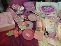 Girl baby shower huge bundle