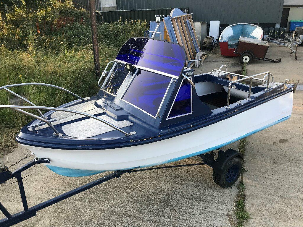 14ft American Marc Baroda Classic Speed Day Boat With Trailer Early 1960 S In Norwich Norfolk Gumtree